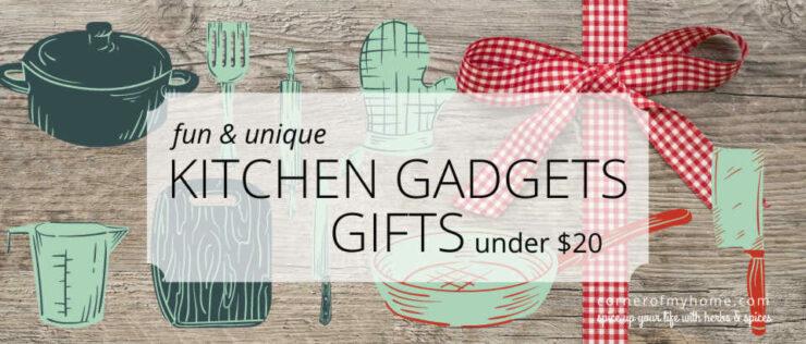 Fun & Unique Kitchen Gadgets Gifts Under $20