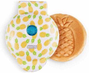Mini Waffle Maker - Pineapple motif