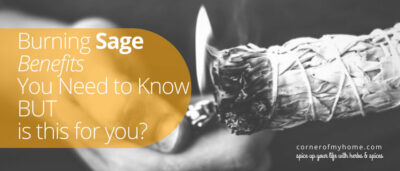 Burning of sage, also known as smudging is a technique to clear or cleanse a space. However, you must find out exactly what smudging is. Having a good understanding would help you figure out if this cleansing technique is for you.